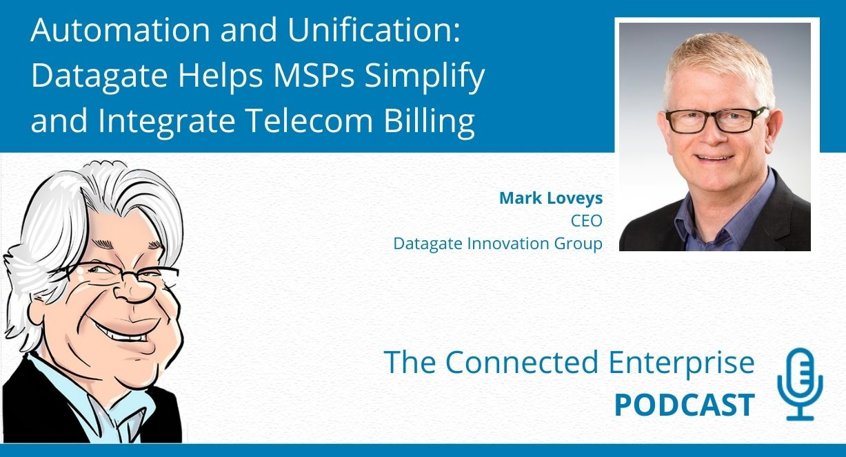 Small Business Tips on the connected enterprise podcast - simplifying and integrating telecom billing