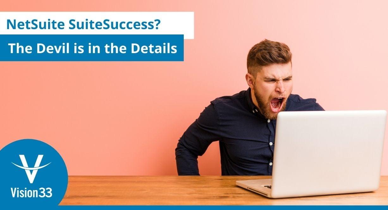 SAP Business One vs NetSuite SuiteSuccess
