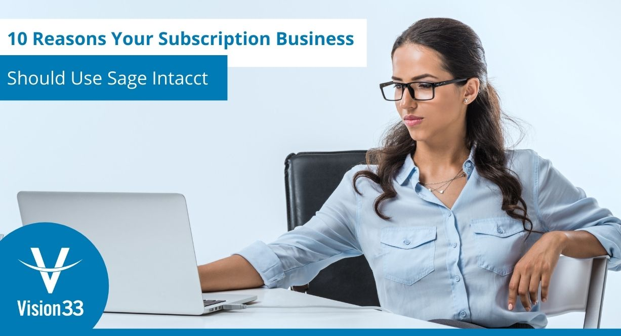 Sage Intacct for subscription businesses