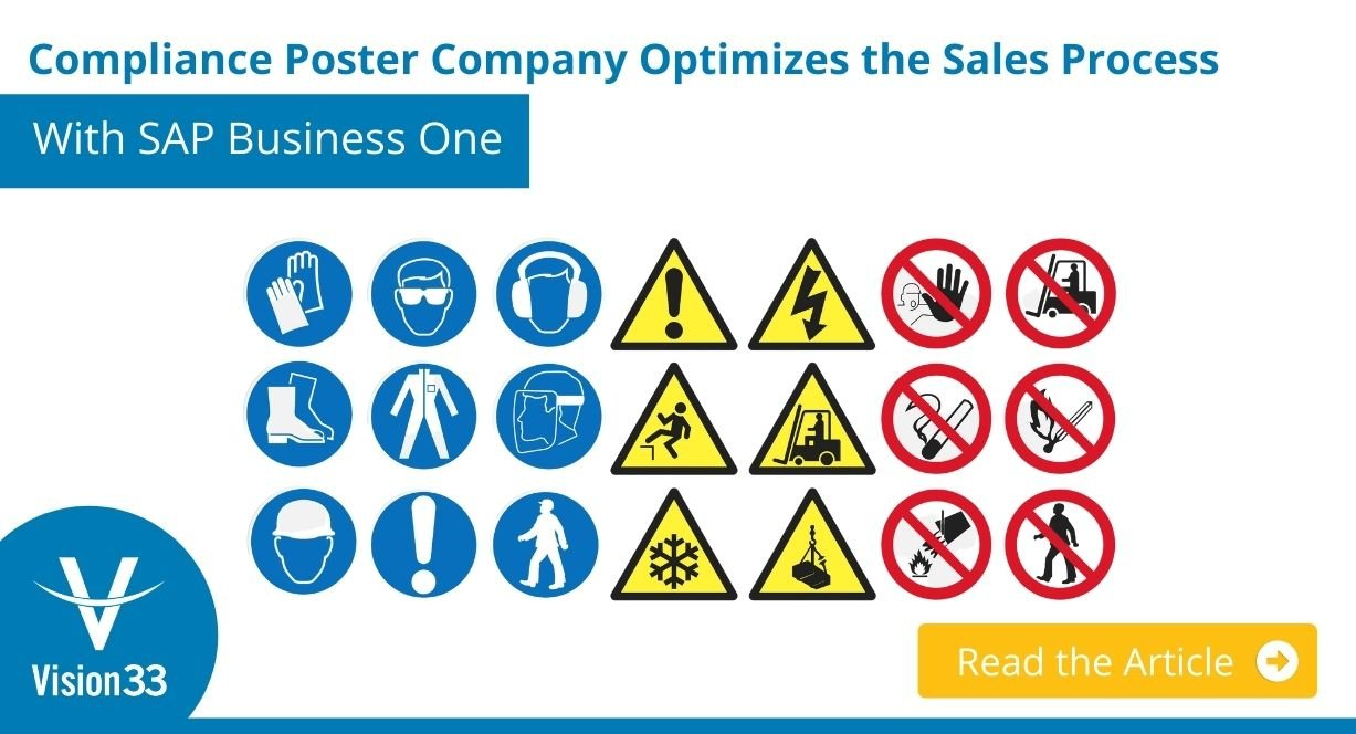 Compliance Poster Company Optimizes the Sales Process With SAP Business One