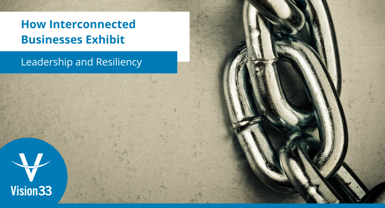 How Interconnected Businesses Exhibit Leadership and Resiliency