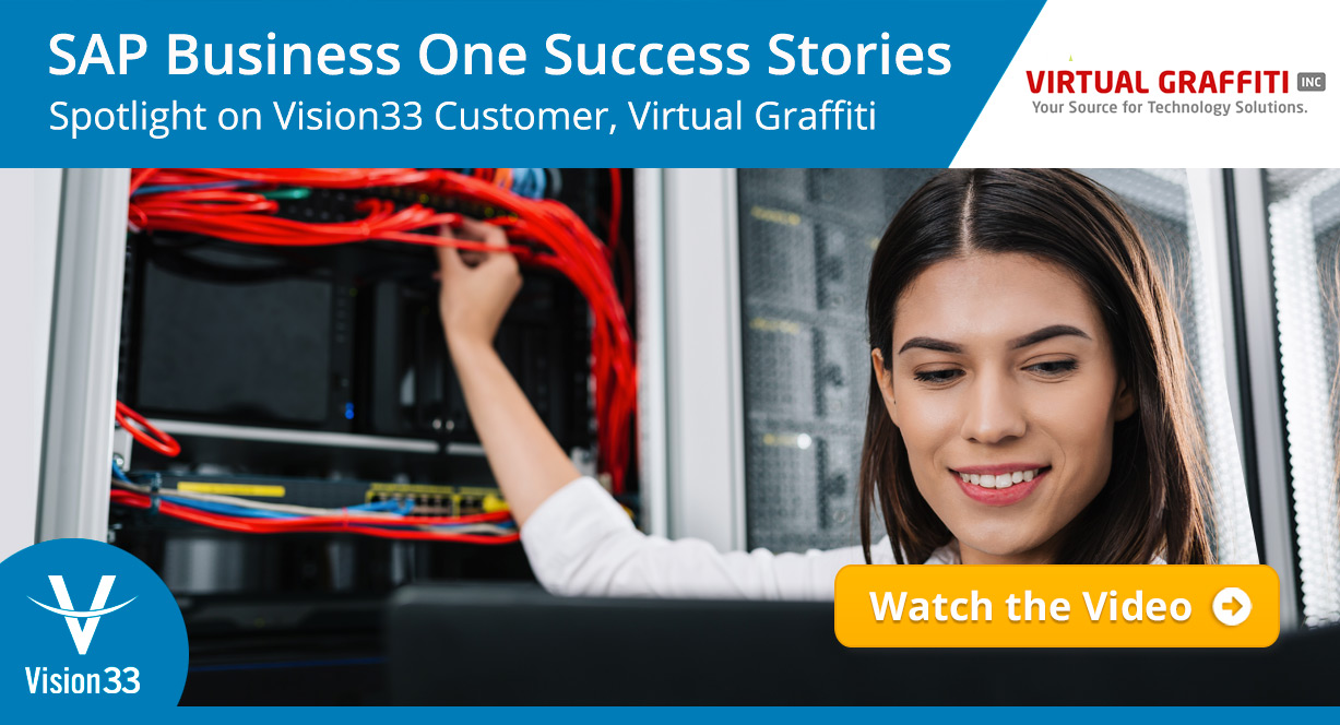 SAP Business One Success Stories: Spotlight on Virtual Graffiti, a Vision33 Customer